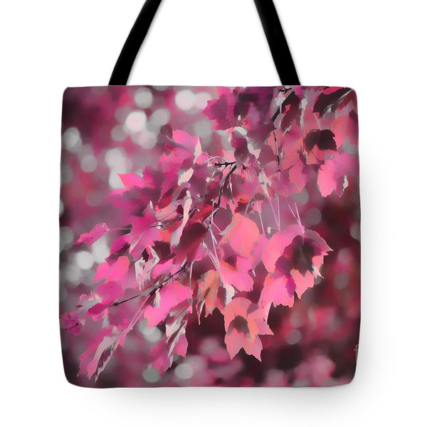 Tote Bag featuring the photograph Autumn Blush by Jeff Breiman