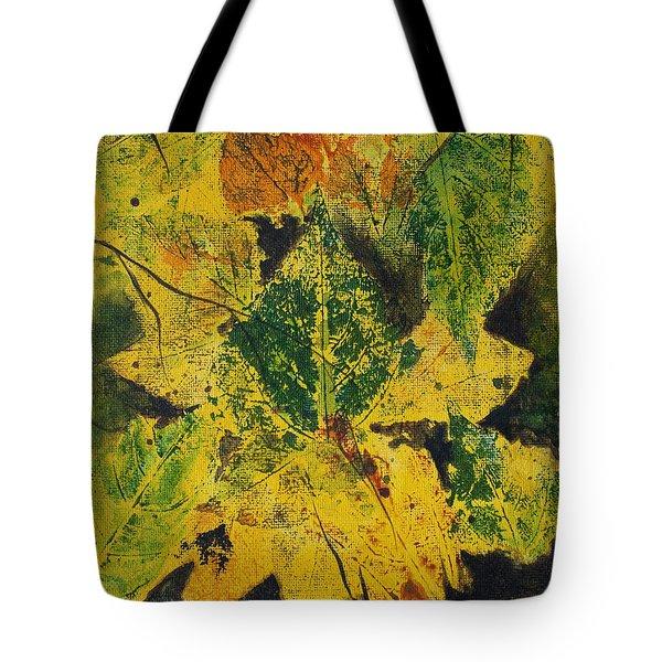 Autumn Boquet Tote Bag