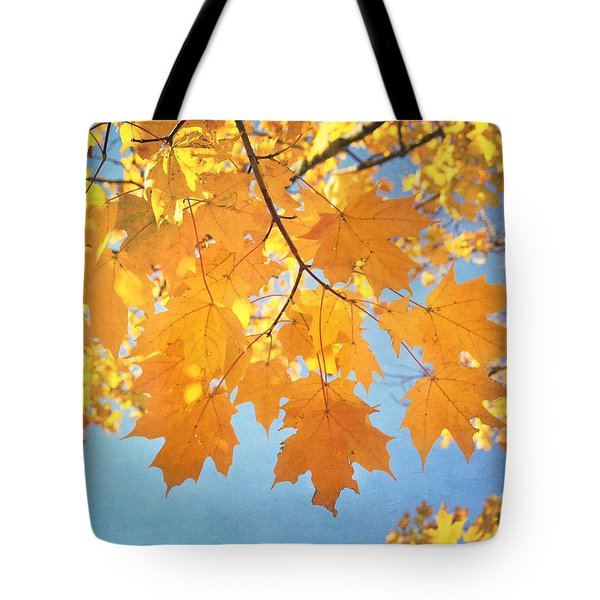 Autumn Colors Tote Bag by Kim Hojnacki