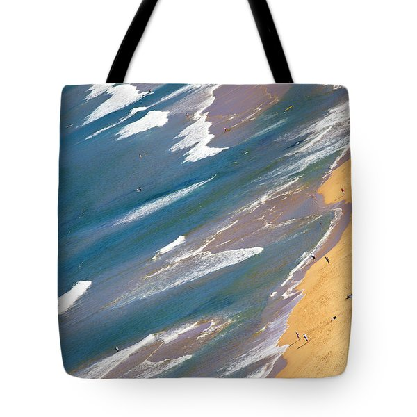 Autumn Day At Palm Beach Sydney Tote Bag by Avalon Fine Art Photography