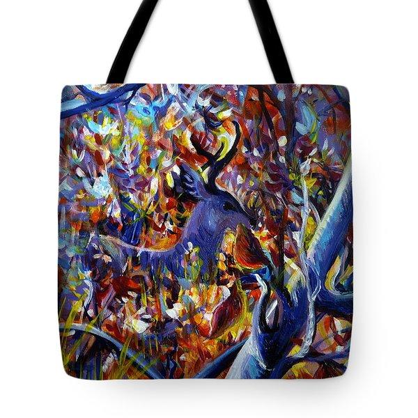 Autumn Fairy Tale Tote Bag by Anna  Duyunova