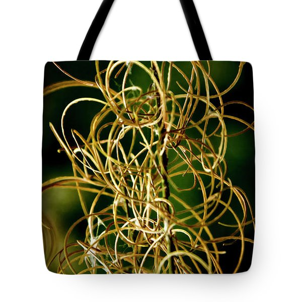 Autumn Fireweed Tote Bag by Albert Seger
