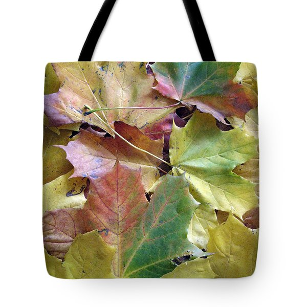 Autumn Foliage Tote Bag by Ausra Huntington nee Paulauskaite