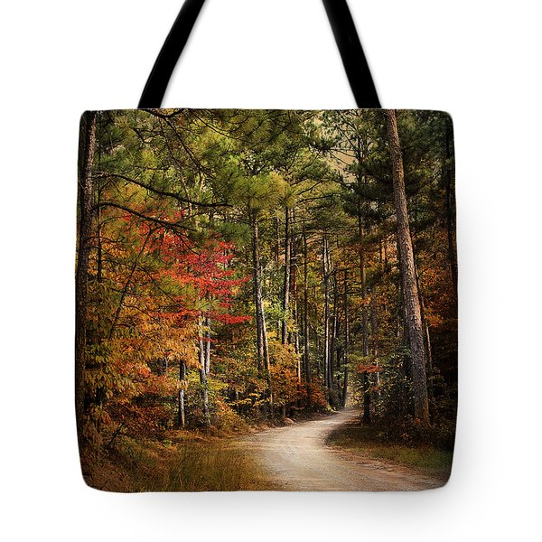 Autumn Forest 2 Tote Bag by Jai Johnson