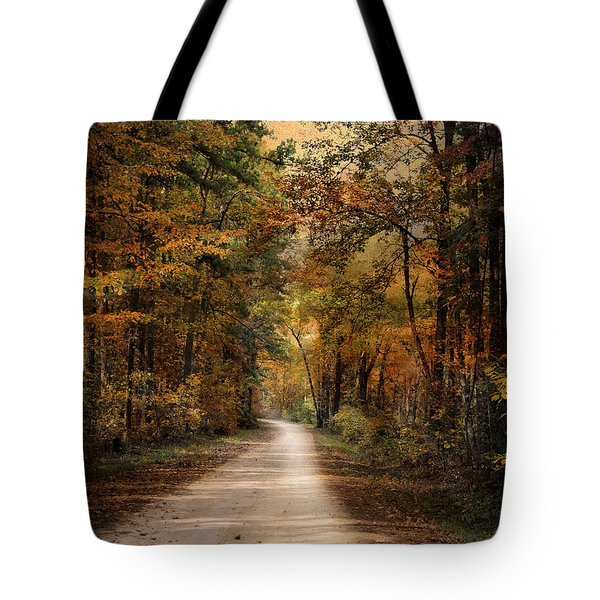 Autumn Forest 3 Tote Bag by Jai Johnson