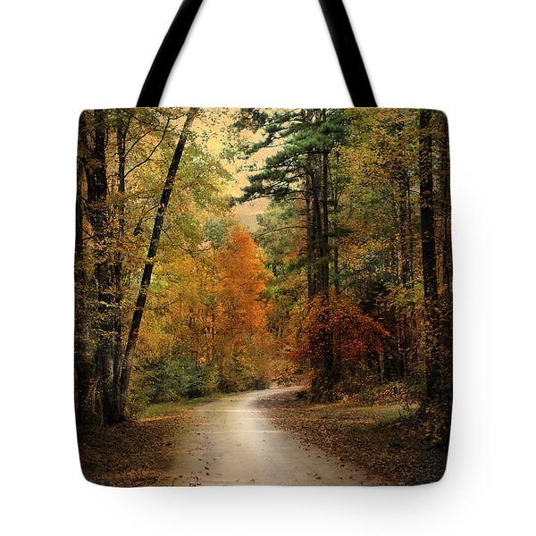 Autumn Forest 4 Tote Bag by Jai Johnson
