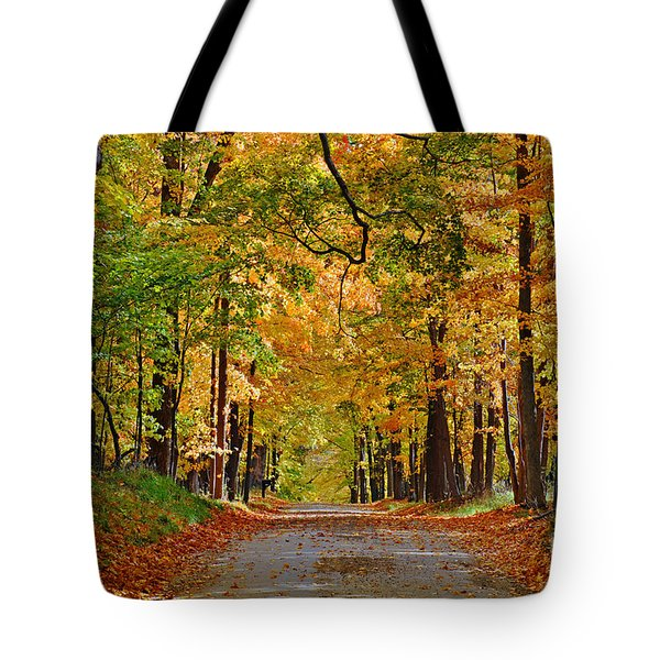 Autumn Gold Tote Bag