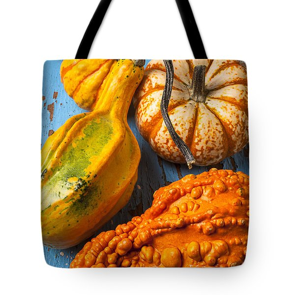 Autumn Gourds Still Life Tote Bag