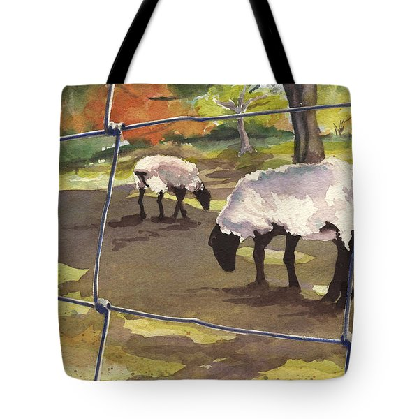 Autumn Graze Tote Bag