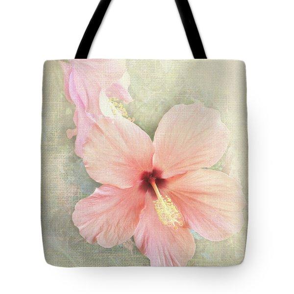 Autumn Hibiscus Tote Bag
