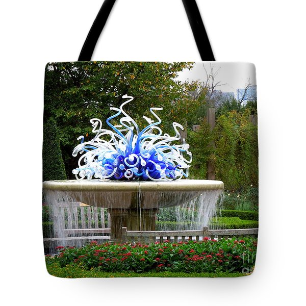 Autumn In Atlanta Tote Bag by Renee Trenholm