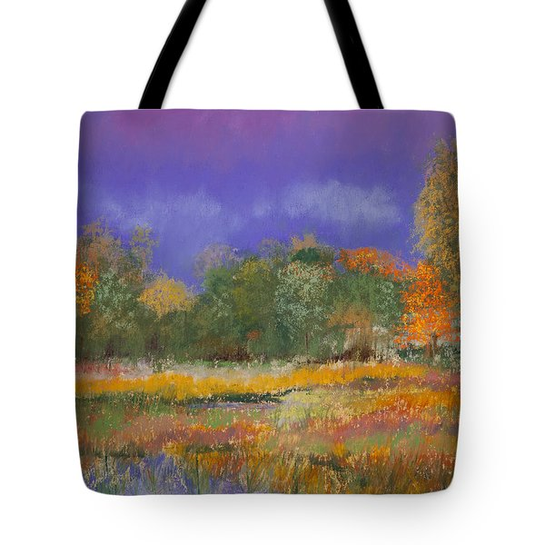Autumn In Nisqually Tote Bag by David Patterson