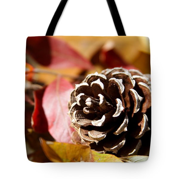 Autumn In Russet Tote Bag by Theresa Johnson