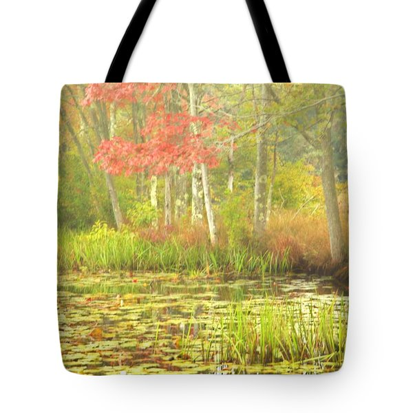 Autumn Is Here Tote Bag by Karol Livote