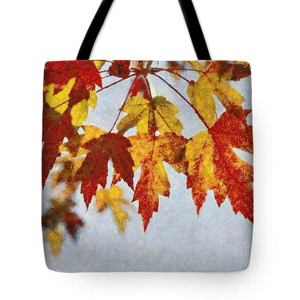 Autumn Leaves IIi Tote Bag by Billie-Jo Miller