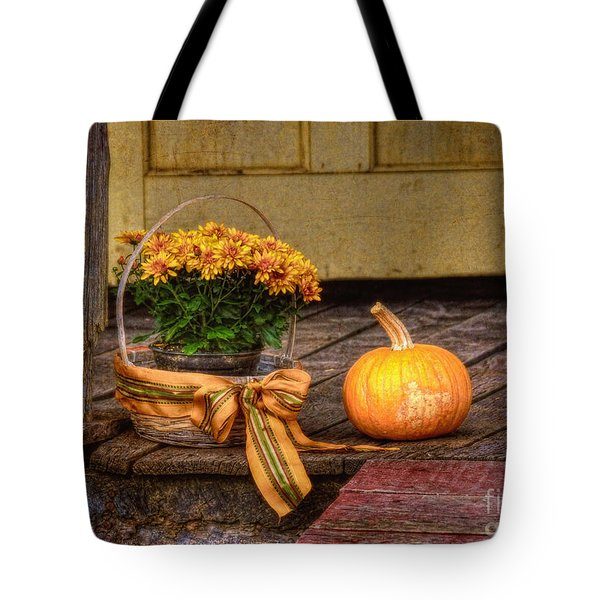 Autumn Tote Bag by Lois Bryan