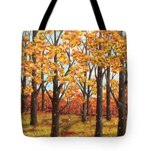 Autumn Meadow Tote Bag