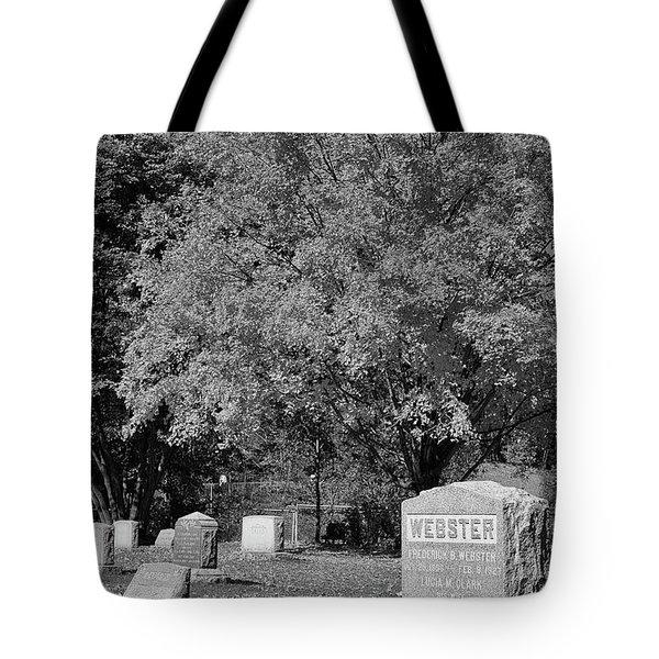 Autumn Memories Bw Tote Bag