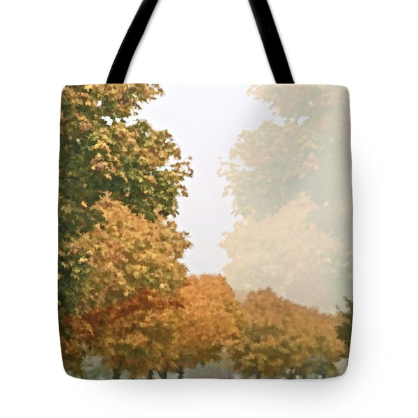 Autumn Mist Tote Bag by Gwyn Newcombe