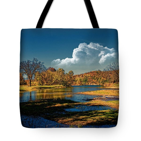 Autumn On The South Fork Tote Bag