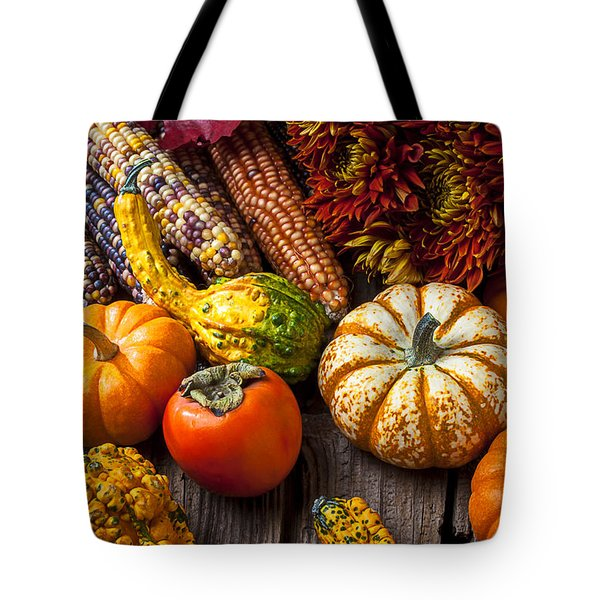 Autumn Still Life Colors Tote Bag