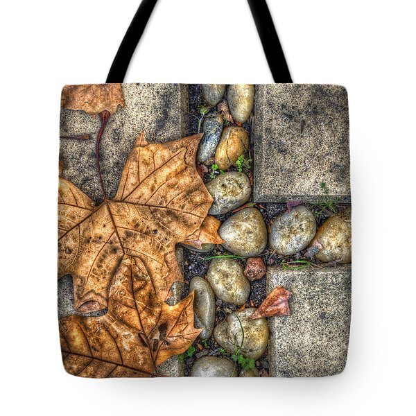Autumn Texture Tote Bag by Wayne Sherriff