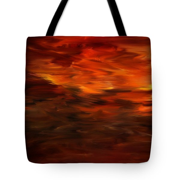 Autumn's Grace Tote Bag by Lourry Legarde