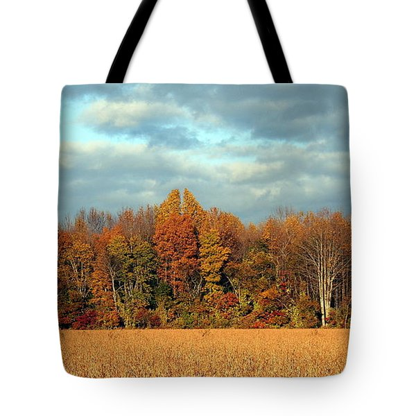 Autumn's Majesty Tote Bag by Theresa Johnson