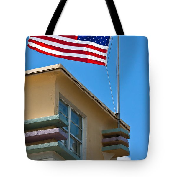 Avalon Hotel In Miami Beach Tote Bag