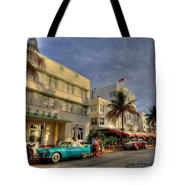 Avalon Hotel Tote Bag