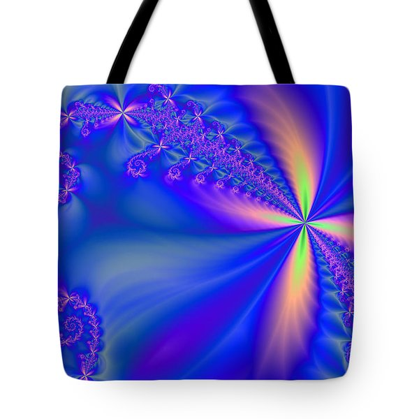 Tote Bag featuring the digital art Avatar Garden by Ester  Rogers