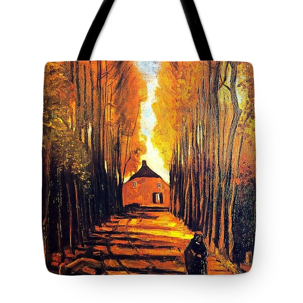 Avenue At Poplars Tote Bag by Sumit Mehndiratta