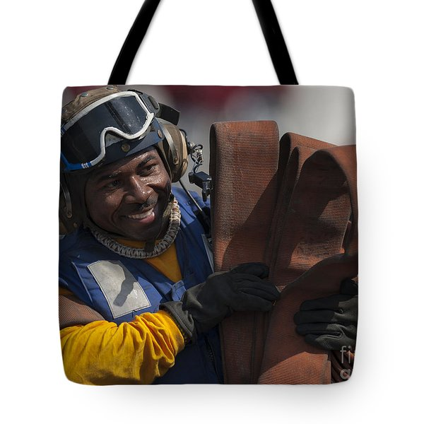 Aviation Boatswains Mate  Carrying Tote Bag by Stocktrek Images