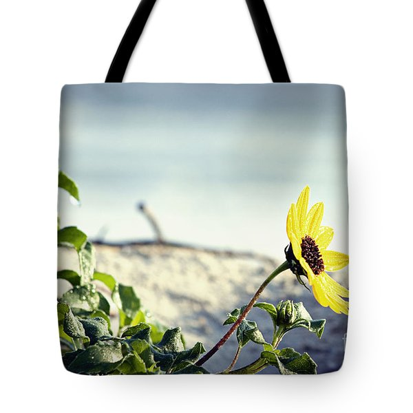 Awaiting Daisy Tote Bag