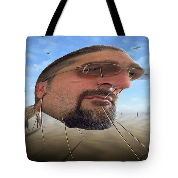 Awake . . A Sad Existence 2 Tote Bag by Mike McGlothlen