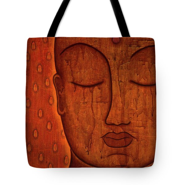 Tote Bag featuring the mixed media Awakened Mind by Gloria Rothrock