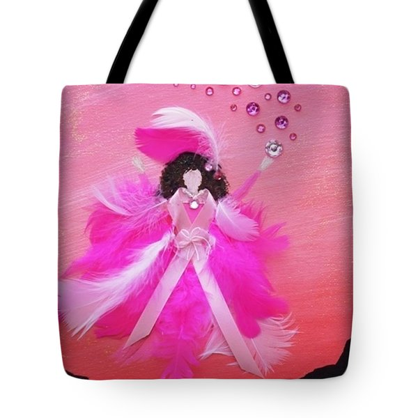 Tote Bag featuring the painting Awareness by Alys Caviness-Gober