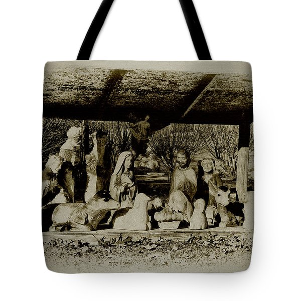 Away In The Manger Tote Bag by Bill Cannon