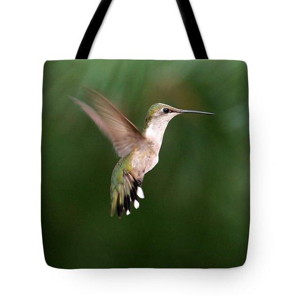 Awesome Hummingbird Tote Bag by Sabrina L Ryan