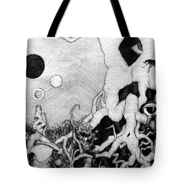 Axis Mundi Tote Bag