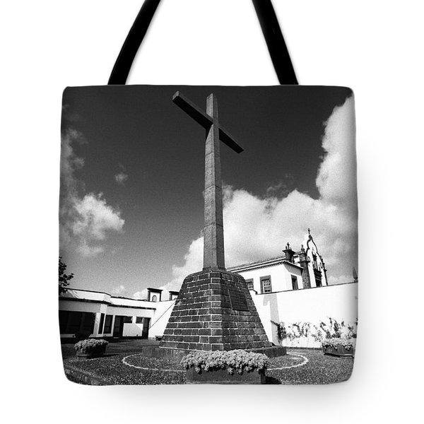 Azorean Chapel Tote Bag by Gaspar Avila