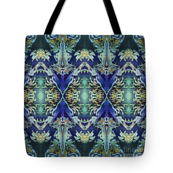 Azuraz Candle Tiled Tote Bag by Sue Duda