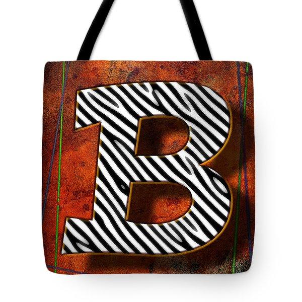 B Tote Bag by Mauro Celotti