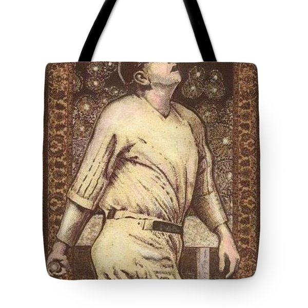 Babe Ruth The Bambino  Tote Bag