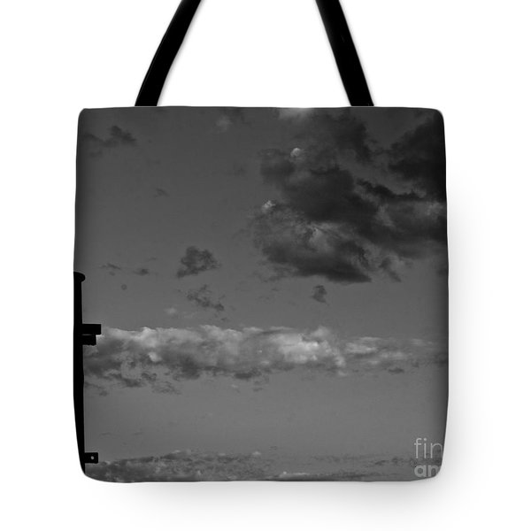 ...babel...to The Moon Tote Bag