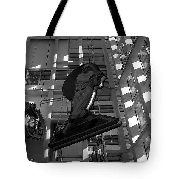 Babes Big Hit Tote Bag by David Lee Thompson