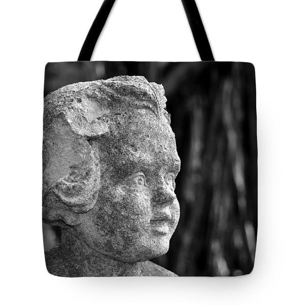 Baby Face Tote Bag by David Lee Thompson