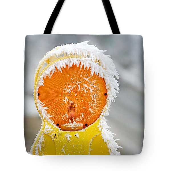 Baby It's Cold Outside Tote Bag by Christine Till