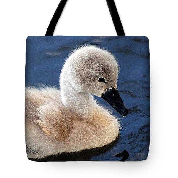 Baby Swan Tote Bag
