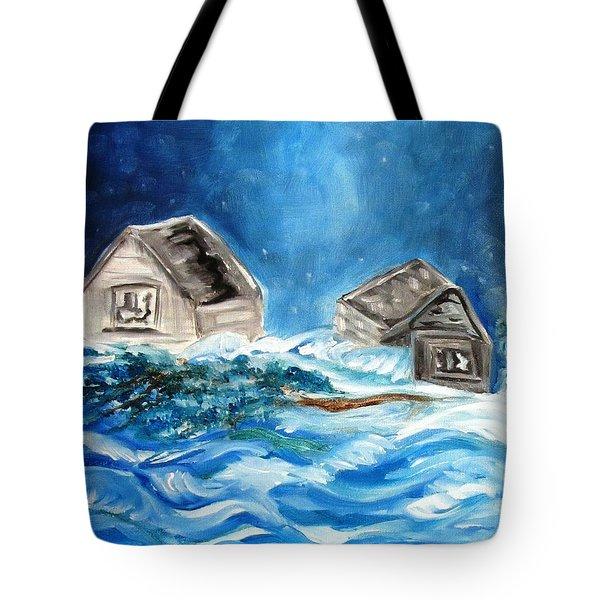 Back Cover Tote Bag by Carol Allen Anfinsen